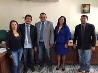 Vereador Uhalasys Bandeira é empossado na Câmara de Vereadores de Mâncio Lima