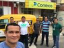 Vereadores comemoram aquisição de novo veículo para correios de Mâncio Lima