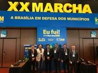 Vereadores de Mâncio Lima participam da 20ª. Marcha em Defesa dos Municípios em Brasília