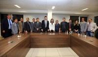 Vereadores de Mâncio Lima são recebidos pelo Ministro do Esporte em Brasília